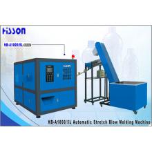 1-cavidade 5L máquina automática moldagem por sopro de garrafa pet Hb-A1000