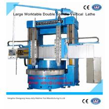Grand prix de la tour verticale CNC à double broche offert par la fabrication de tours verticaux à double broche CNC