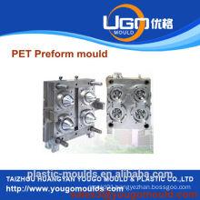 Transparent pet preform plastic tube mould