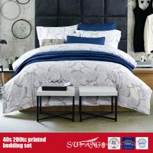 Linge de lit imprimé par 40S 200TC pour l'usage d'hôtel / à la maison