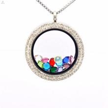 Belle image réglage cadre pendentif collier bijoux
