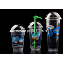 Disposable crystal clear plastic cups for export