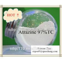 Высокое качество Атразин Уничтожитель сорняков 97% TC 500g / lSC 80% WP 90% WDG CAS: 1912-24-9