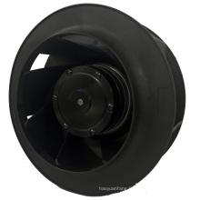 Ventilateurs centrifuges 225mm diamètre X101mm AC avec roulements à billes sans entretien