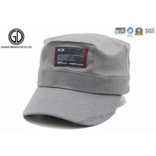 Customized Cotton Army Hat Military Cap with Patch Label Logo