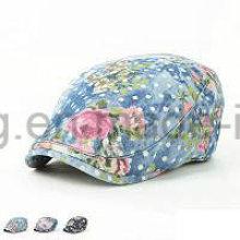 Gorra de béisbol modificada para requisitos particulares de la hiedra del dril de algodón de la manera, sombrero de la boina de los deportes