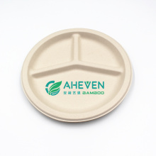 Anhui EVEN Biodegradable Disposable Compostable Sugarcane Bagasse Dinner Plate With Cheap Price