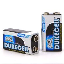 Batterie sèche alcaline 9V 1 / S 1.5V SGS 0mercury