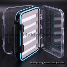 Waterproof Foam-Inside Small Plastic Fly Fishing Box