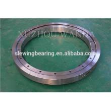 Rodamiento de anillo de engranaje de plataforma giratoria de 4 puntos de contacto negro usado para equipo de oscilación