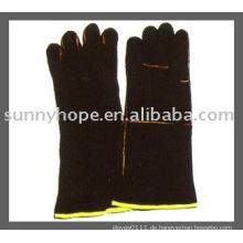 Sunnyhope Leder Schweißen Arbeitshandschuh, Schweißer Handschuh