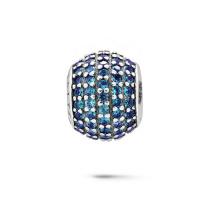 Farben-Kristallschmucksache-Silber-Korn-Schmucksachen für europäisches Armband