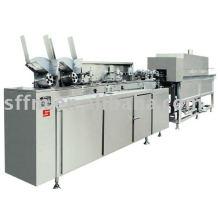 YZS ampola tela cor de esmalte impressão esmalte, linha de produção