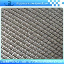 Malla de alambre expandida de acero inoxidable utilizada en ferrocarril