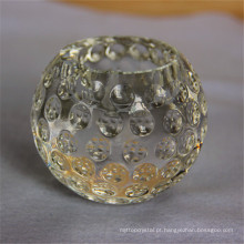Suporte de vela votive de cristal da cor sólida do preço da qualidade garantida apropriada