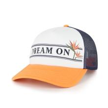 Bordado e impressão do logotipo Chapéu de caminhoneiro de espuma