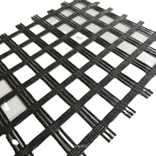 Coated Fiberglass Geogrid roll for Road Construction