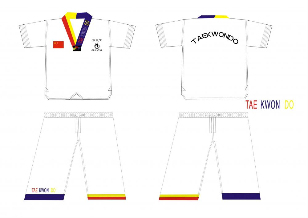 taekwondo uniform summer style