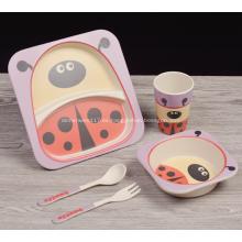 Juego de cena para niños diseñado con figura súper linda