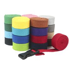 High Quality Custom 25mm  Ribbon Webbing Band Print Brand Logo For Bag Belt