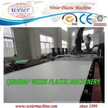 Máquina extrusora de placa de espuma de plástico PVC WPC