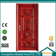 Suministro a granel de puertas de seguridad de acero para proyectos de viviendas