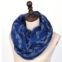 Fashion Women tribal wholesale infinity words print music scarf