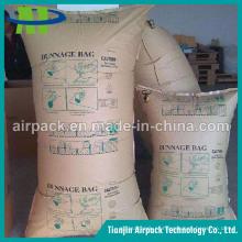 OEM impermeável e Wetproof do airbag de Dunnage do inflador do papel de embalagem de Brown