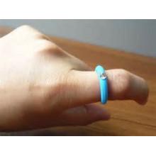 Kundengebundener Silikonkautschuk-Finger-Ring