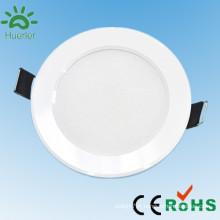 Nouvelle forme moderne de forme lumineuse ronde forme 100-240v 4 pouces encastrée conduit vers le bas de la lumière