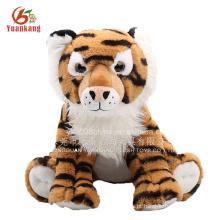 Brinquedo animal selvagem recheado tigre brinquedo de pelúcia