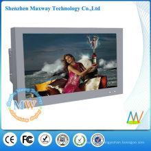 monitor exterior seguro do lcd de 65 polegadas 1500 lêndeas para a exposição exterior
