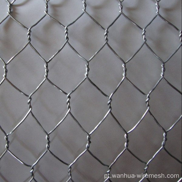 Galvanizado Hexagonal Chicken Wire Mesh