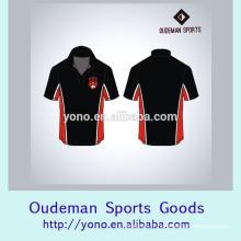 T-shirts de haute qualité de cou de tour de cou de sec de haute qualité fournisseur