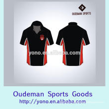 High quality turn-down neck dry fit man's t-shirts supplier