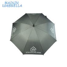 Encuentre los detalles completos sobre Outdoor Designed Mobile Windproof Promotion Umbrella Sales para Supermarket with EVA Handle