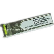 Transetteur à fibre optique Bidi Bsfp-L1.25g-ED entièrement compatible