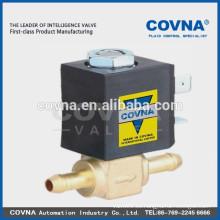 Electroválvula de actuación directa 2 vías electrodomésticos pequeños válvula normal cierre agua junta de aire VITON válvula solenoide