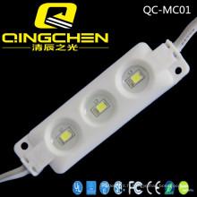 3 chips SMD 3528 0.3W Module LED à injection avec CE, RoHS