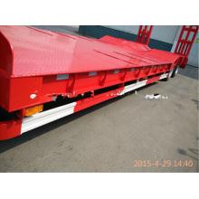 Semirremolque de cama baja para el transporte de maquinaria