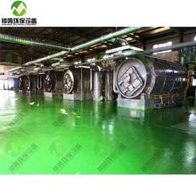 Niedertemperaturpyrolyse von Kunststoffbeuteln aus festen Abfällen zu PPT-Brennstoffen