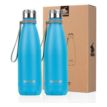 Most Popular Products Custom Private Label Metal Stainless Steel Mochic Water Bottle