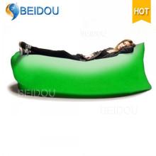 Venta al por mayor Impreso Laybag bolsa de dormir inflable aire rápido Sofa