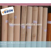 Tornillos de madera de doble rosca mango de escoba de madera