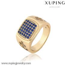 12832 China Wholesale Xuping Fashion Elegant 18K gold Plated Men Ring