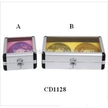 CD de alta calidad 32 & 64 discos aluminio CD caja ventas por mayor