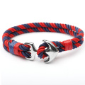 Baja Anchor Hook Sailor Rope Kustom Handmade Bracelet