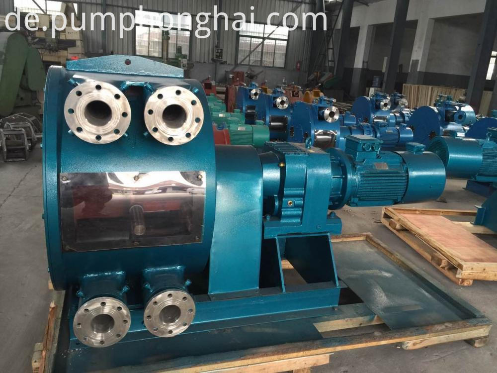 stainless steel hose pump