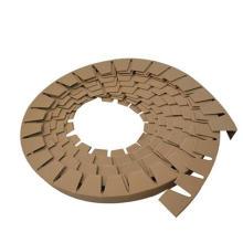China made circular paper corner protector paper tube edge protector paper corner