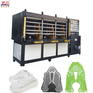 Customizable kpu upper shoes cover making machine